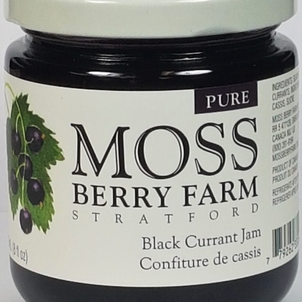 Moss Berry Black Currant Jam