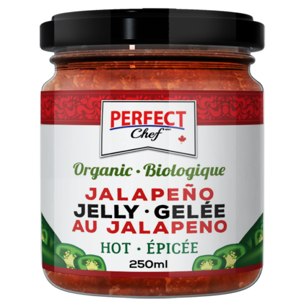 PJ02 Perfect Chef Org Jalapeno Pepper Jelly